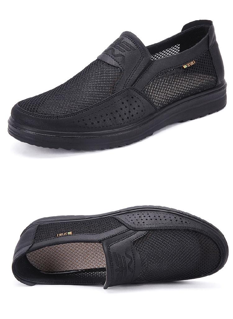 HTB1QfDjQpzqK1RjSZFoq6zfcXXaQ Merkmak 38-48 Men'S Casual Shoes Men Summer Style Mesh Flats For Men Loafer Creepers Casual High-End Shoes Very Comfortable sho