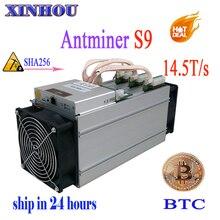 S9 14.5 t SHA256 asic AntMiner bitcoin mineiro (sem FONTE de ALIMENTAÇÃO) bitmain AntMiner Mineração Máquina melhor do que WhatsMiner M3 S9 T9 V9