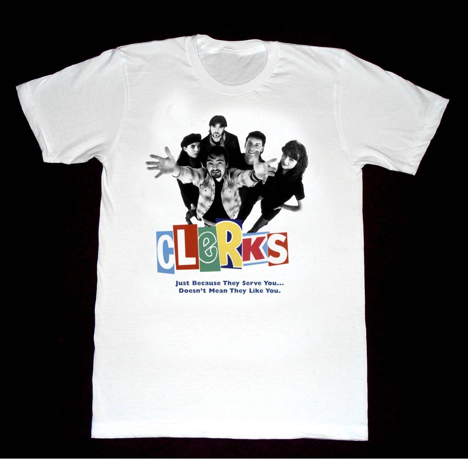 Clerks Tshirt A45 Shirt 80's Cult Movie Independent Underground Film