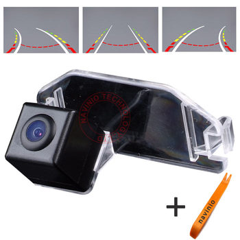 CCD car track Camera backup rear view reversing Trajectory Directive parking Assistance for Toyota CAMRY PAL Car waterproof HD фото