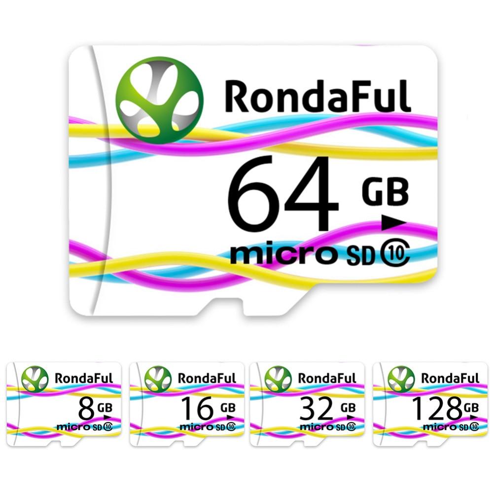 2017 05 512 xd picture card - Rondaful Full Capacity Memory Card 128gb Micro Sd Card 64gb 32gb 16gb Class10 Microsd