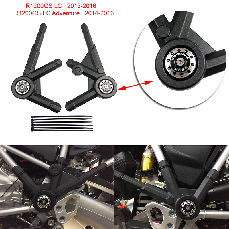 For BMW R1200GS LC / R1200 GS LC ADV Adventure 2013 2014 2015  2016 2017 Motorcycle Side Frame Panel Guard Protector CoverCovers