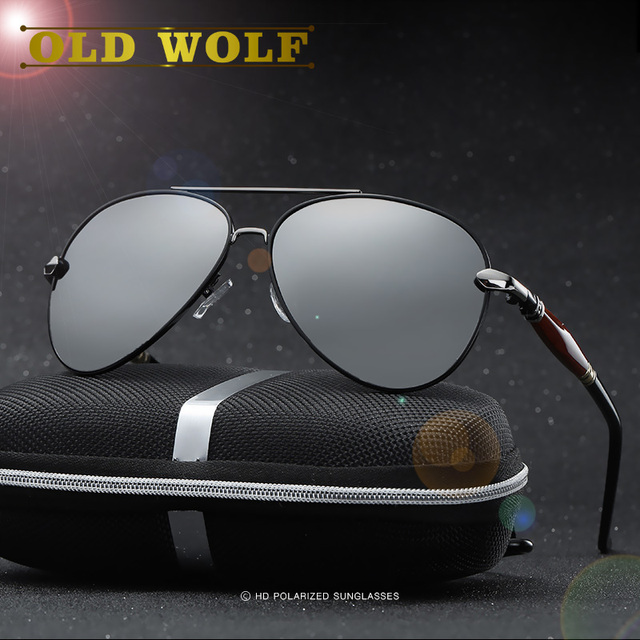 2017 Aviation Sunglasses Men's Polarized Fishing Driving Unisex Double Nose Sunglass High Quality Polarization Eyeglasses Women