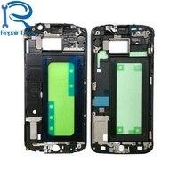 الإطار الأمامي إطار الإسكان لوحة لسامسونج غالاكسي S6 G920 G920F G920A غطاء عالية الجودة إصلاح استبدال أجزاء