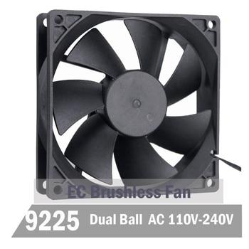 50Pcs Gdstime EC Brushless Fan 9CM 90MM 92MM 92MM X 92MM X 25MM EC Motor AC 110V 115V 120V 220V 240V Axial Fan Ball Bearing
