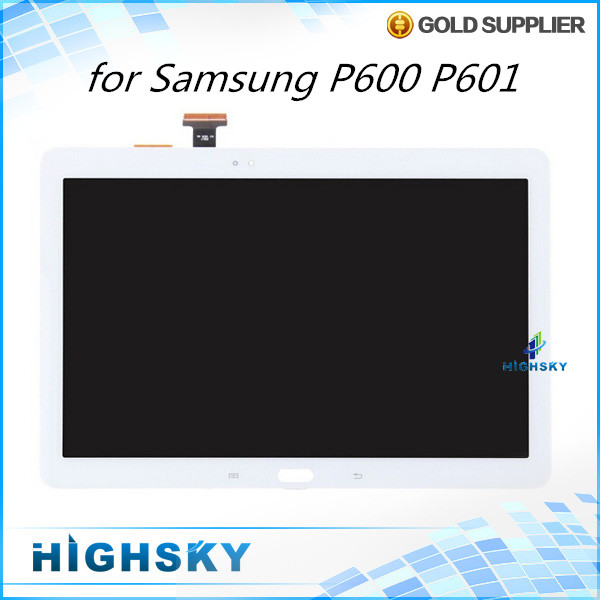 5 pcs/lot free shipping replacement touch digitizer + lcd display for Samsung galaxy Note 10.1 2014 Edition P600 P601 screen