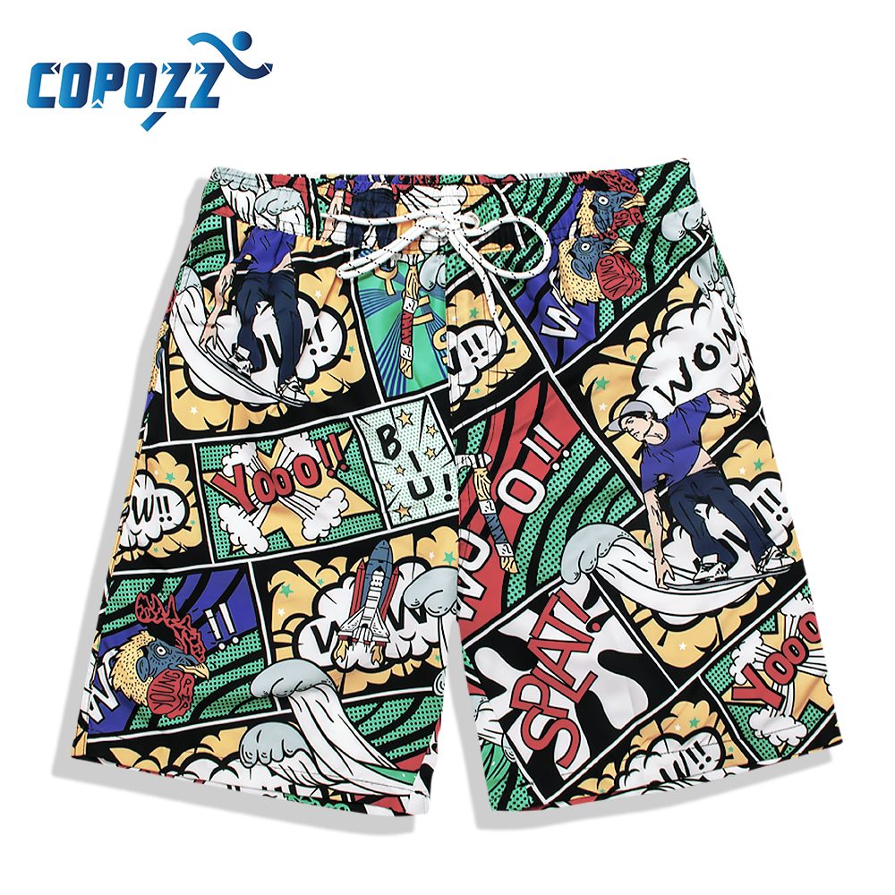 Mens Swimwear Swimming Shorts Trunks Beach Board Shorts Draw String Elastic Swim Pants Swimsuits Running Sports Surffing Short in Surfing Beach Shorts from Sports Entertainment