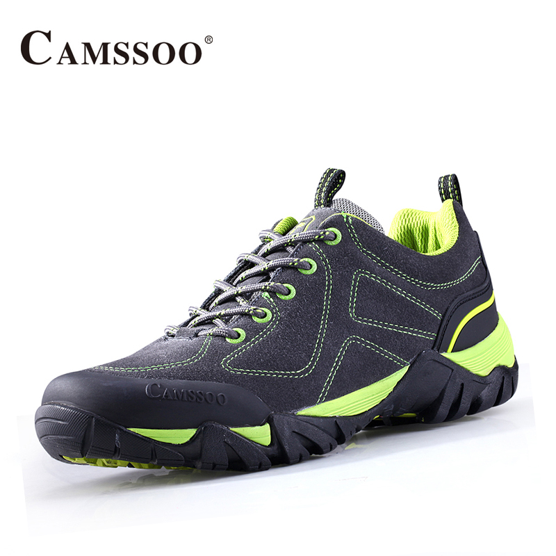 Camssoo Outdoor Walking Shoes Men Breathable Mesh Outdoor Sneakers Men Trainers Size Eu 39-44 AA40363 camssoo new running shoes men soft footwear classic men sneakers sports shoes size eu 39 44 aa40375