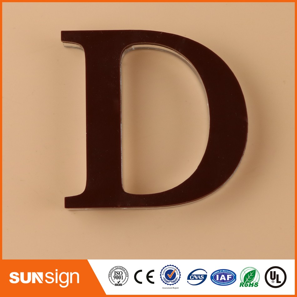 Custom Plexiglass Sign Letters Signboard Company Logo Sign