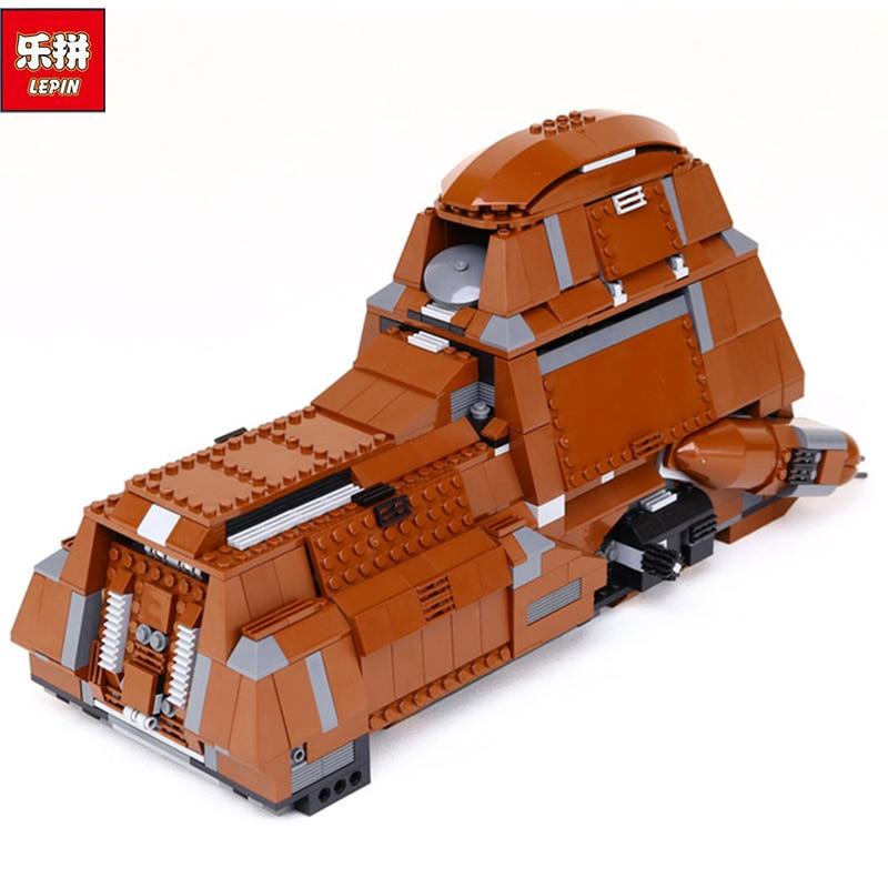 Lepin 05069 Star War Series The Federation Transportation Tank Set 1338Pcs MTT Children Building Blocks Bricks Toys Model 7662 rollercoasters the war of the worlds