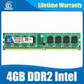 Оперативной памяти ddr2 8 ГБ 2x4 ГБ ddr2 800 МГц для intel и amd плат поддержка memoria 8 ГБ ram ddr 2 800 PC2-6400 Пожизненная Гарантия