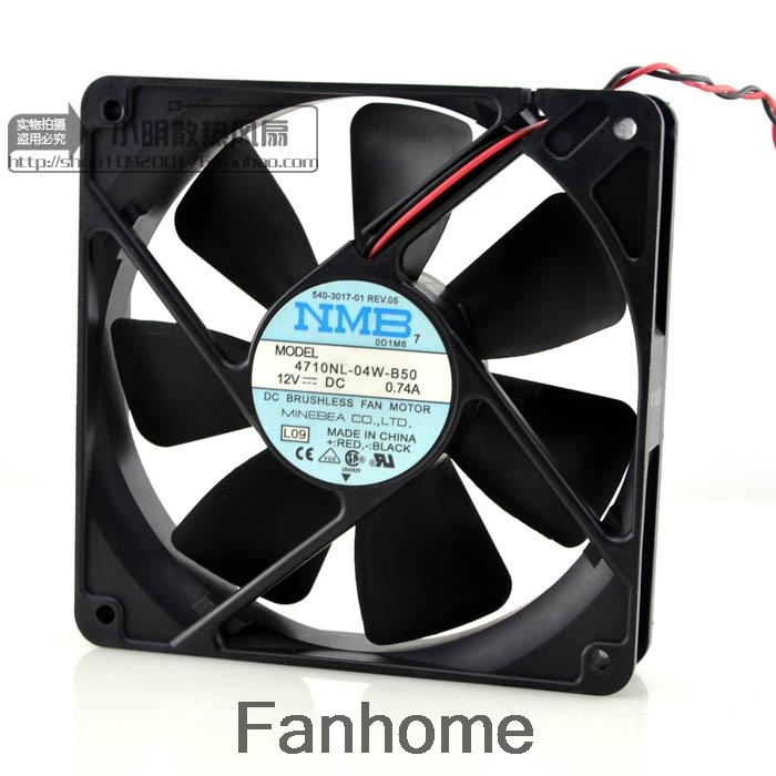 For MeiBeiYa NMB 24V 0.20A 4710KL-05W-B30 12025 double ball silent fan