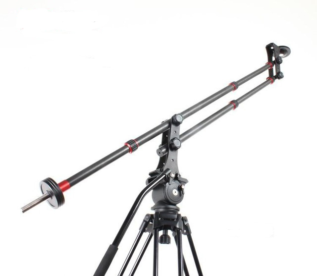 professional carbon fiber crane,Westage portable mini JIB,camera crane video photo shooting jimmy with counter balance weight ashanks photography mini jib crane carbon fiber portable pro dslr video camera jib arm crane standard version bag free shipping