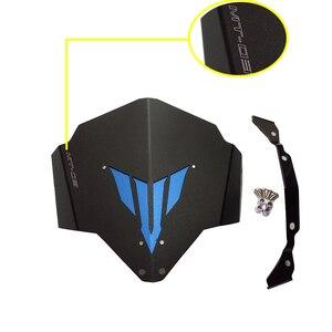 Für Yamaha MT-03 MT-25 FZ-03 Motorrad Windschutz Windschutz Hohe Festigkeit Aluminium Für Yamaha MT03 MT25 FZ03 2015 2016 Neue