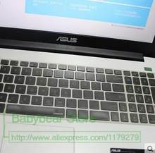 Silicone laptop keyboard coverprotector For Asus FL5500LD FL5500LD FL5600 FL5800 F554L FX FX-PLUS JX4720 ZX50JX X550V N501J(China)