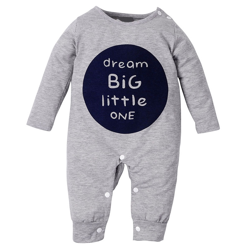 spring autumn baby boys and girls rompers long sleeve boys rompers clothes newborn baby gray 0-24 months newborn infant baby rompers spring autumn baby clothing long sleeve baby body suit kids boys girls rompers baby clothes kf070
