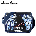 Star Wars Darth Vader Shoulder Book Bag Students Canvas Messenger Bag Child Primary School Bag