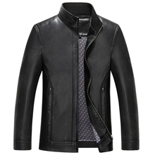 Branding Mens Leather Suit Jacket and Coats Spring Style Luxury Brand Business Leather Blazer Coats Streetwear For Men New C308