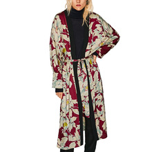 BB&KK Women Long Sleeve plus size kimono cardigan casual summer blusa