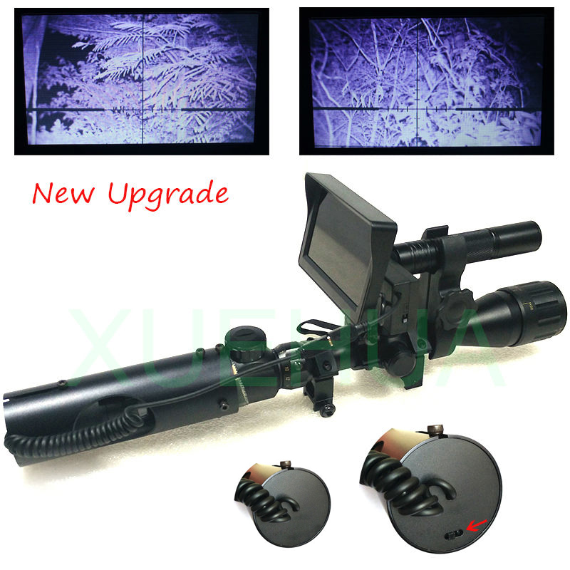 Hot Selling Upgrade Outdoor Hunting Optics Sight Tactical digital Infrared night vision riflescope use in day and night hot selling upgrade outdoor hunting optics sight tactical digital infrared night vision riflescope use in day and night