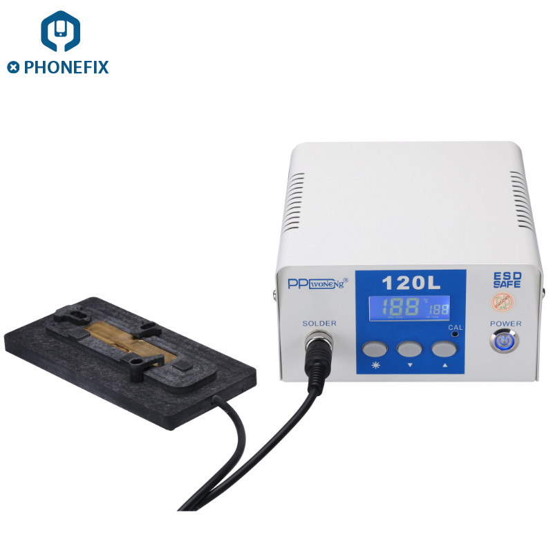 PHONEFIX PPD120 With LCD Screen Display Intelligent Desoldering Rework Station For iPhone A8 A9 A10 Chip Reballing SolderingPHONEFIX PPD120 With LCD Screen Display Intelligent Desoldering Rework Station For iPhone A8 A9 A10 Chip Reballing Soldering