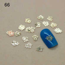 10pcs Nail jewelry trend nail super popular 18K metal nail thin metal nail patch  naill sticker 10pcS/pag
