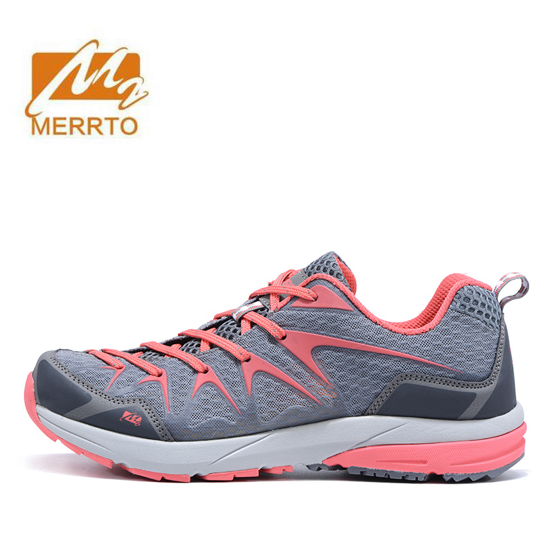 MERRTO Womens Spring And Summer Outdoor Hiking Trekking Shoes Sneakers For Women Sports Climbing Mountain Shoes Woman Outventure merrto men s spring and summer outdoor trekking hiking shoes sneakers for men mesh sports climbing mountain shoes man senderismo