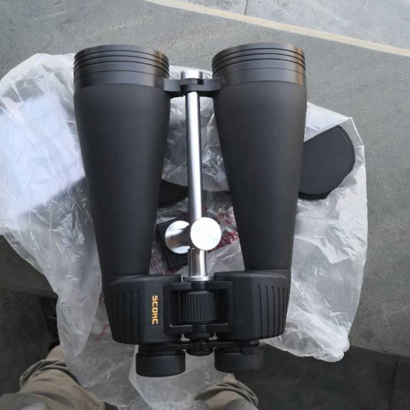 SCOKC 20x80 ED Binoculars HD Waterproof Lll Night Vision Binocular ED Glass Objective Lens Outdoor Moon Bird Watching Tele