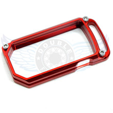 2016 new style Motorcycle Accessories CNC Billet Aluminum Key Remote Cover Case Red For DUCATI DIAVEL
