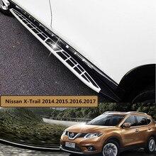 Для Nissan X-Trail 2014.2015.2016.2017 Автомобиля Подножки Подножка Бар Педали Новый Cayenne Стиль Nerf Бары