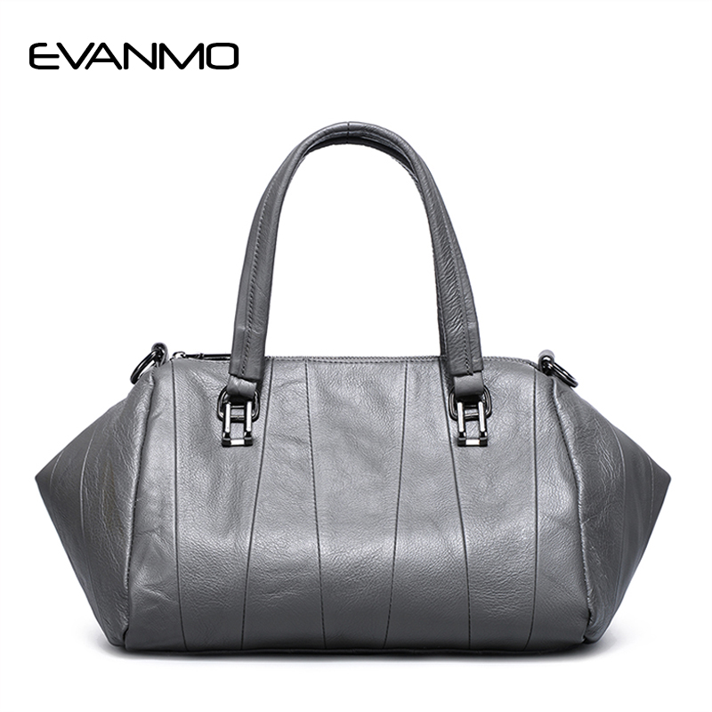 2018 Luxury Handbags Real Leather Women Bags Designer Genuine Leather Woman Saffiano Bag Ladies Handbag Purple Daily HandBag