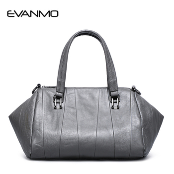 2019 Luxury Handbags Real Leather Women Bags Designer Genuine Leather Woman Saffiano Bag Ladies Handbag Purple Daily HandBag