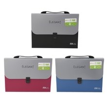 Business Document Storage Expandable File Folder Briefcase Labels Organizer  Bag(China)
