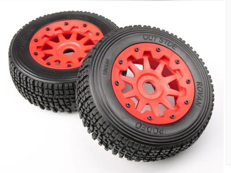 Baja 5SC Front Wheel Nylon Small Tire Field Tire Crossbreaker 95102 полесье полесье детская игровая кухня яна