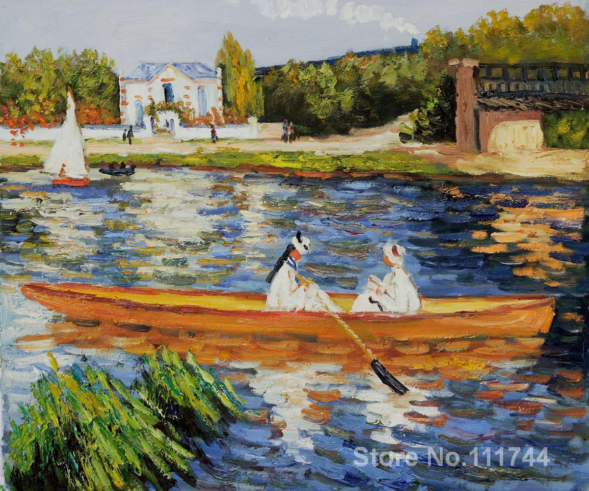 Boating Seine Pierre Auguste Renoir Famous