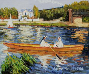 Boating on the Seine Pierre Auguste Renoir famous paintings oil canvas reproduction High quality Hand painted