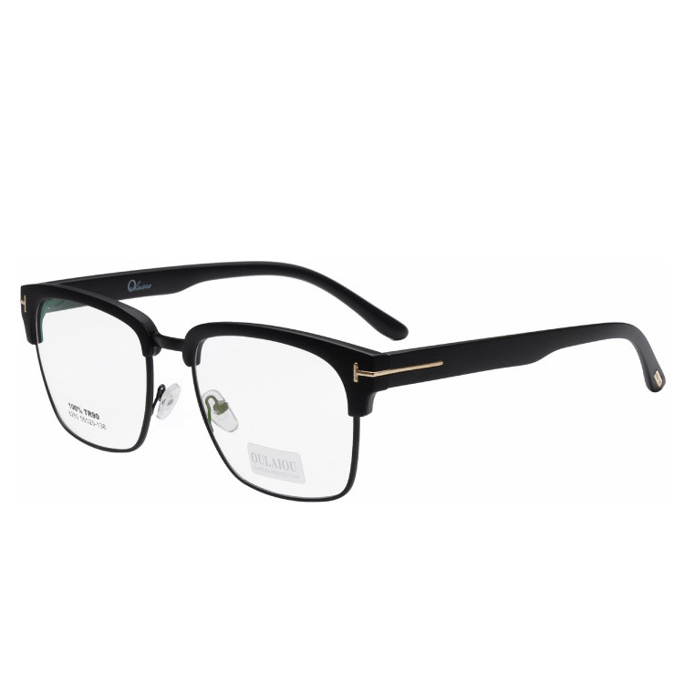 women and men optical glasses classic design large frame prescription glasses framechina mainland