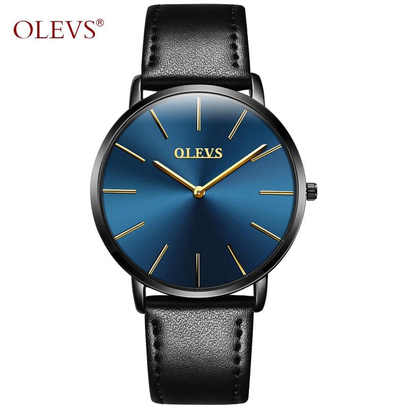 OLEVS Relojes minimalistas de primeras marcas Relojes de lujo simples - Relojes para hombres - foto 2