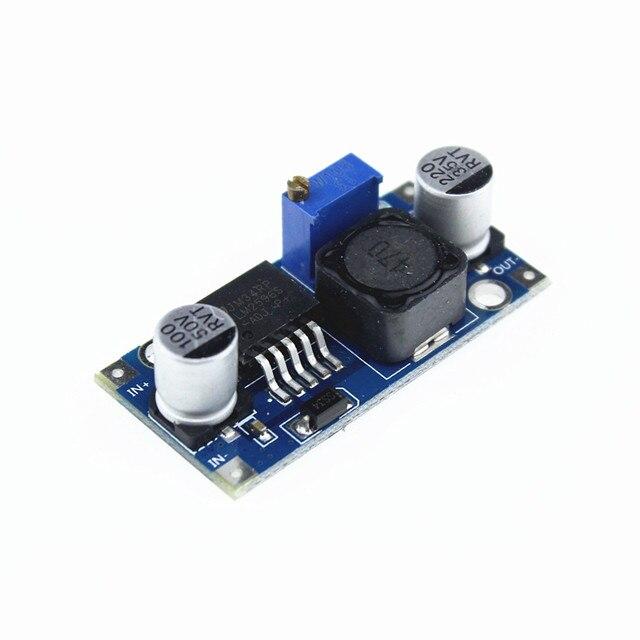 Módulo de reducción de potencia 100 unids/lote LM2596 LM2596S DC DC 1,5 V 35 V módulo de alimentación reductor ajustable envío gratis