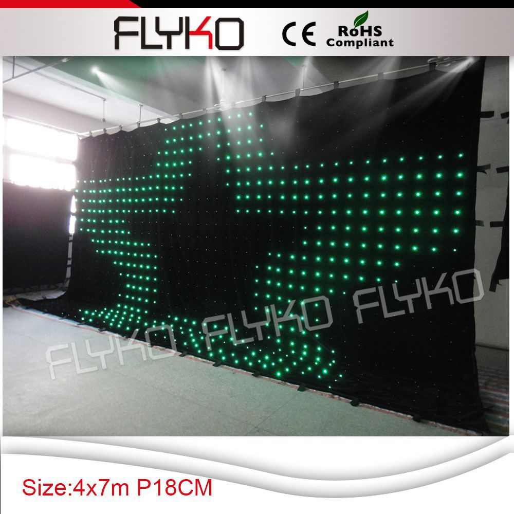 Stage Lighting Effect Lights & Lighting Pc Controller Led Soft Curtain Display Led Cortinas Led Video Curtain In Short Supply Free Shipping