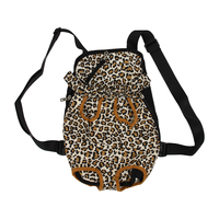 Exchange Carrier Backpack Front Size XL Fabric for Leopard Dog