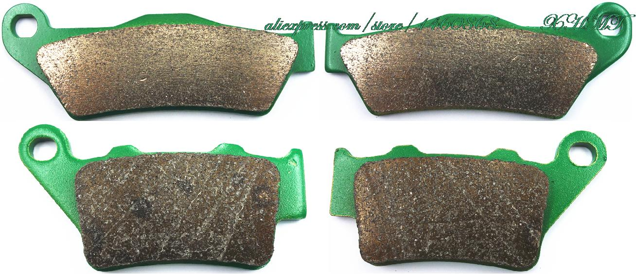 Brake Pads Set For Benelli Bx Cross 449 Cc 2007 2008 2009 2010 2011 2012 / Bx Enduro 505cc 08-12 / Maico 250 500 Cross 1998 &Up