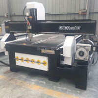 China Cnc Router 4 Axis Machinery/4 Axis Cnc Milling Machine/4'x8' Wood Cutting Engraving CNC Machine
