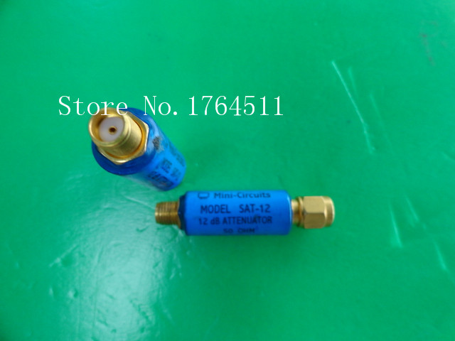 [BELLA] MINI SAT-12 DC-1.5GHz Att:12dB 2W SMA Coaxial Fixed Attenuator  --5PCS/LOT