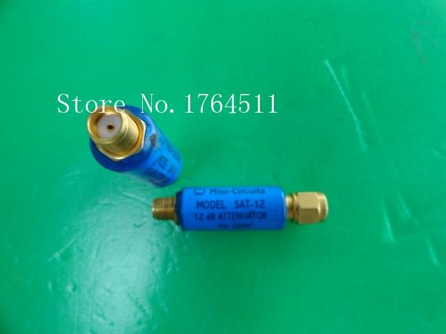 [BELLA] MINI SAT-12 DC-1.5GHz Att:12dB 2W SMA Coaxial Fixed Attenuator  --5PCS/LOT