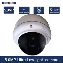 CCDCAM H.265 5MP Ultra Low-light IMX178 Vandalproof network cctv IP fome camera EC-IUV7523