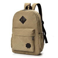 Canvas Backpacks 2017 New School Bags For Teenagers Fashion Laptop Travel Backpack Bookbags Men Women