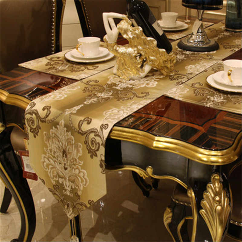 SBB Europa noble estilo de lujo moderno Simple Bandera de mesa TV gabinete cubierta toalla de té mesa china bandera paño personalizado