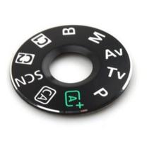 NEW Function Dial Model Button Label for Canon EOS 6D Top Function Digital Camera Repair Part
