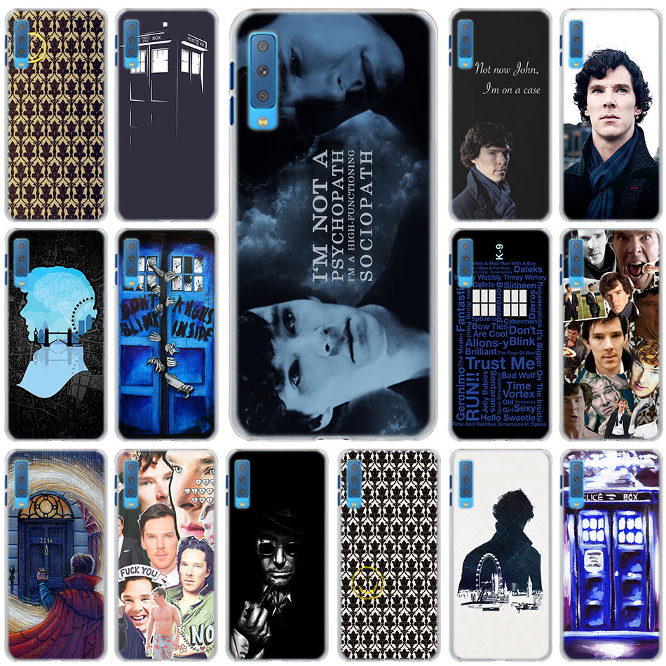 A8 A8 2018 A3 A5 A7 A9 2018 A8s A6s Hard Back Phone Case Pleasant To The Palate Sherlock Tardis Doctor Who Cases Cover For Samsung Galaxy A6 A6